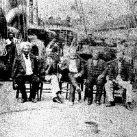 Frederick Douglass on the deck of the USS Tennessee in Key West, Florida, January 17, 1871