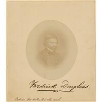 Frederick Douglass, c. 1860