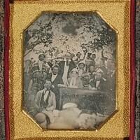 Frederick Douglass in Cazenovia, New York, August 22, 1850