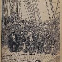 Commissioners to Santo Domingo, c. 1881
